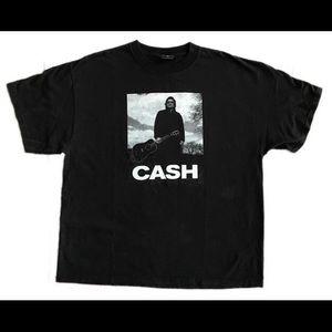 Johnny Cash Zion Rootswear XL t shirt